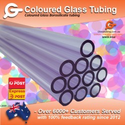 Coloured Glass Tubing 10mm...